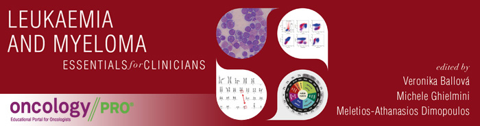 ESMO Essentials for Clinicians Leukaemia and Myeloma Banner