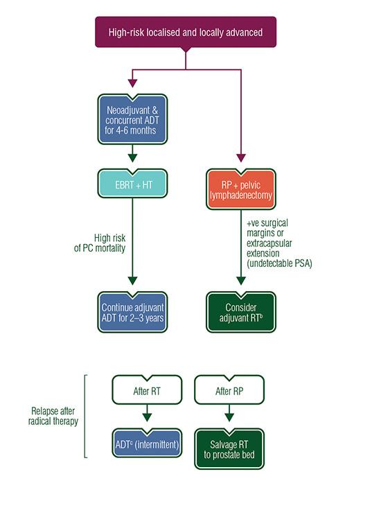 Prostate Cancer Treatment Algorithms | ESMO