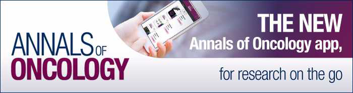 Annals of Oncology App Banner