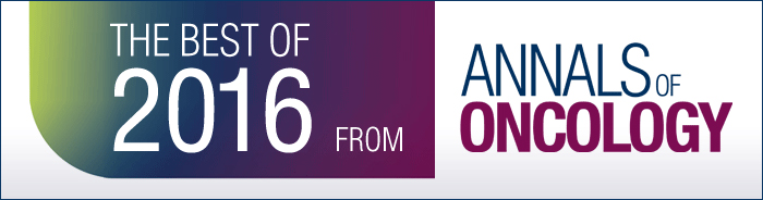Best of 2016 from Annals of Oncology