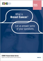 ESMO Patient Guide on Breast Cancer Cover