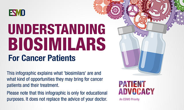 ESMO Understanding Biosimilars for Cancer Patients
