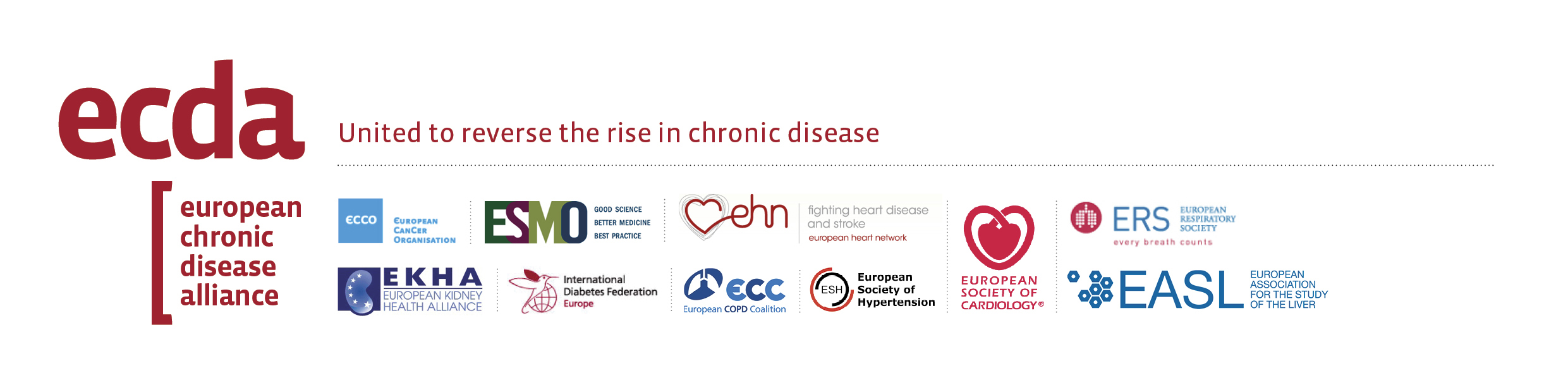 European Chronic Disease Alliance banner