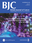 British Journal of Cancer cover